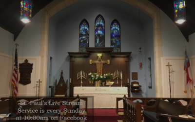 St. Paul's Episcopal Church Live Stream