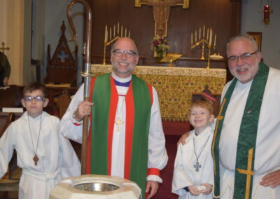 Bishop Fisher and Rev. Keith