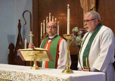 Bishop Visit Altar 2020