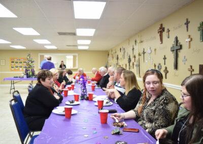 Bishop Visit Reception