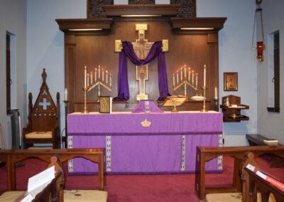 Ash Wednesday Altar 2020