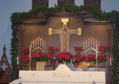 Christmas Eve Altar 2020-2