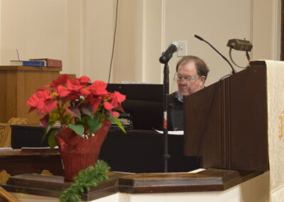 Thanks to our Organist Dr. Don Ball, Jr.